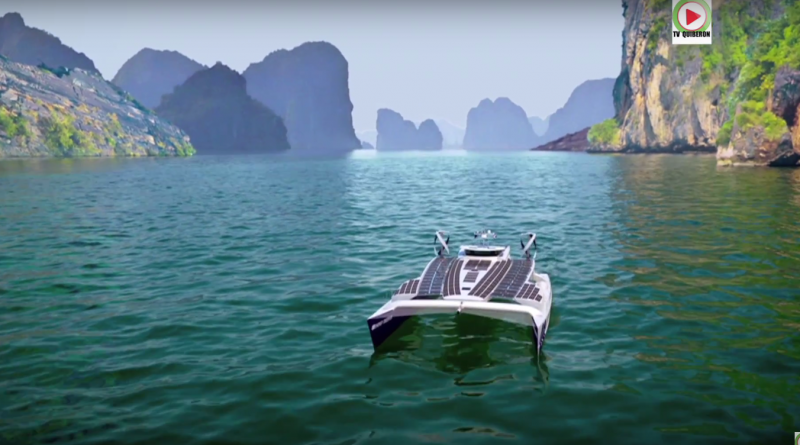 Zero-emission boat prepares for round-the-world odyssey