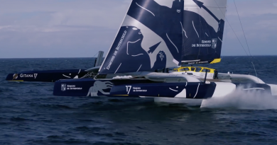 Sailing: The Flying Monster Gitana 17 - Quiberon 24 Television