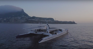 The first hydrogen vessel - Gibraltar webTV