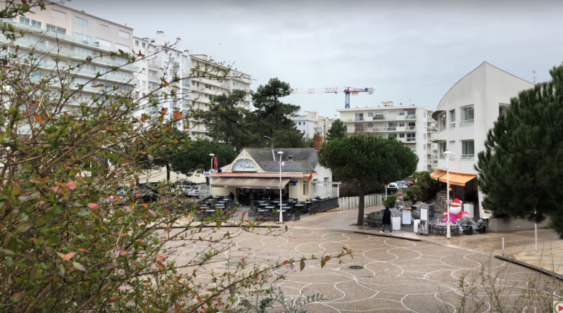 The Beach of La Baule Winter - La Baule 24 Television