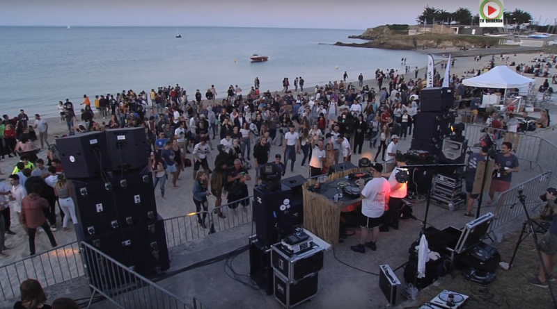 electro music quiberon beach - Quiberon TV World
