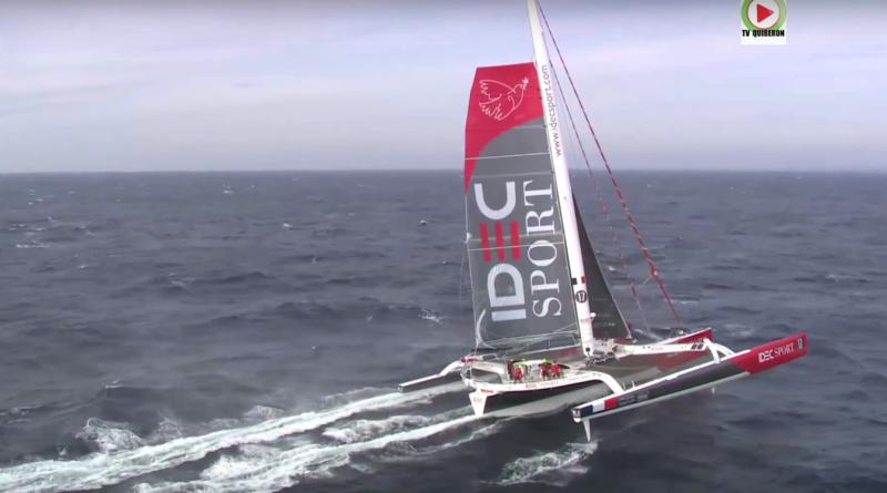 Sailing: The Jules Verne Trophy Idec Sport