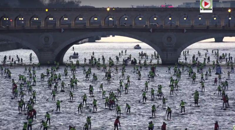 600 Paddlers in Paris - QUIBERON 24 Television