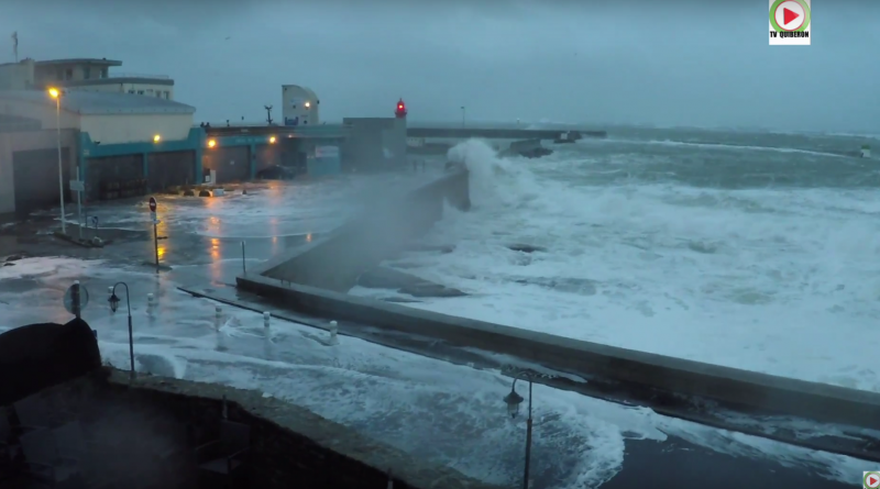 Storm Kurt in Brittany - QUIBERON 24 TV