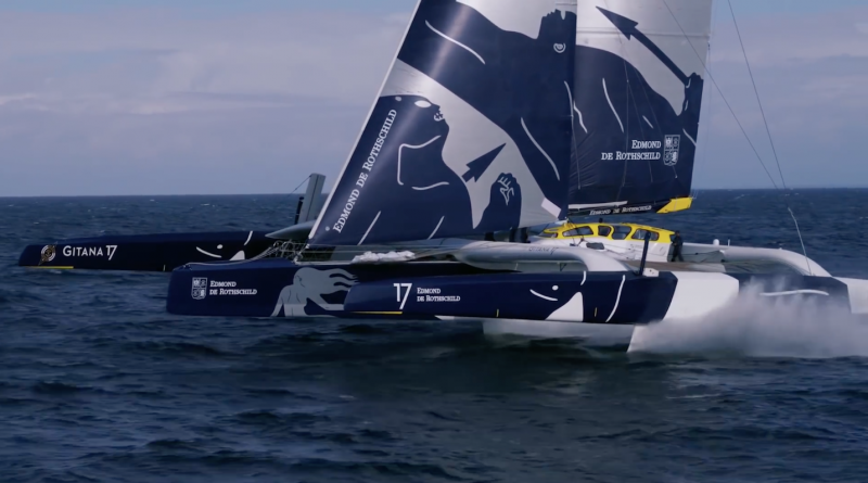 Sailing: The Flying Monster Gitana 17 - Quiberon 24 Television